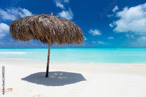 Photo Beautiful Caribbean beach