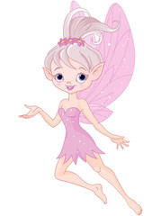 Beautiful pixie fairy