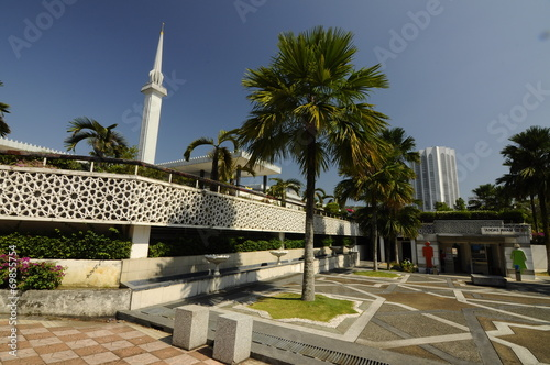 Photo  National Mosque of Malaysia a.k.a Masjid Negara