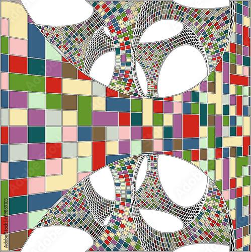 mozaika-kolorowy-miejski-geometrycznej-struktury-wektor