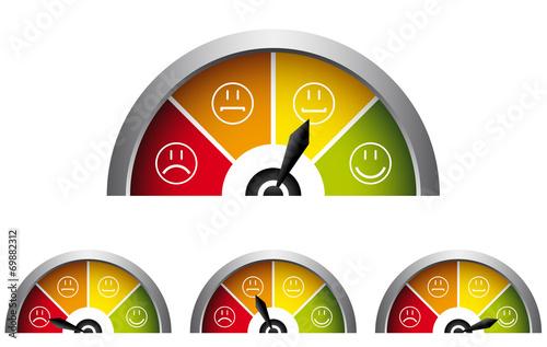 Stimmungsbarometer Canvas Print
