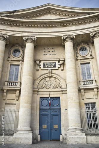 Photo  faculté de droit, Paris
