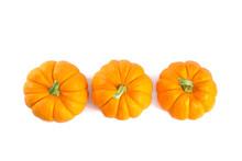Top View Of Decorative Orange ...