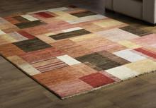 Rug Carpet On Wooden Floor Clo...