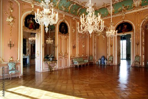 Ballsaal im Schloss Canvas Print