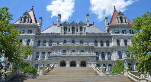 New York State Capitol in Albany, New York State, USA. Tablou Canvas