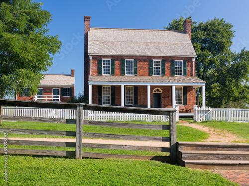 Fotografie, Obraz  Clover Hill Tavern at Appomattox National Park