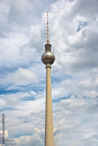 Keuken foto achterwand Berlijn Berlin TV tower (Fernsehturm), Germany