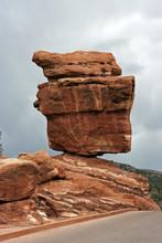 Balanced Rock In Colorado Spri...