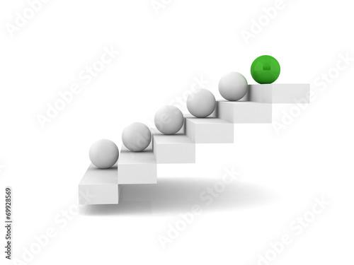 Fotografía  Stairway - steps - stairs