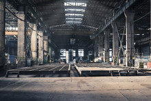 Iron Workshop Of Shipyard