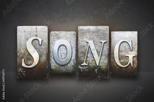 Láminas  Song Letterpress