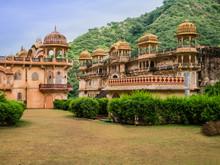 Galta Ji Mandir, The Monkey Temple Near Jaipur, India