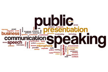 Public Speaking Word Cloud