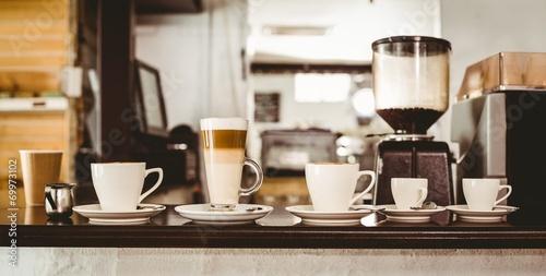 Fotografie, Obraz  Výběr kávy na pult
