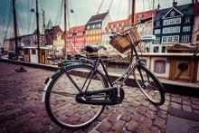 Classic Vintage Retro City Bic...