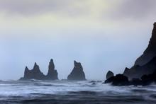View On Three Rock Pillars At ...