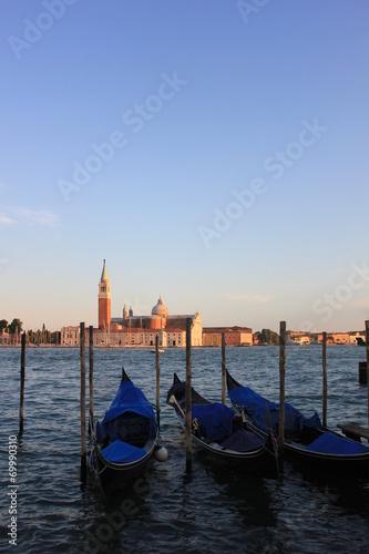 Spoed Foto op Canvas Venice Gondolas