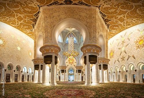 ABU DHABI - GRANDE MOSCHEA BIANCA SHEIK ZAYED