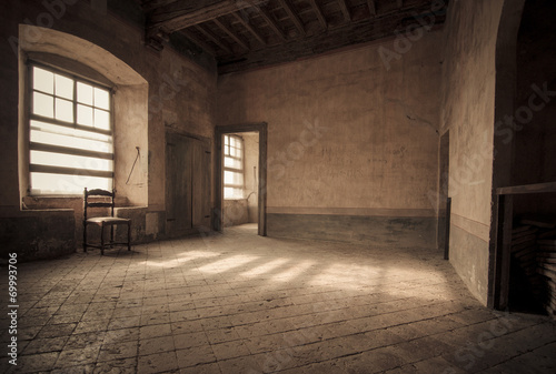 Foto  Salone del castello di Roddi