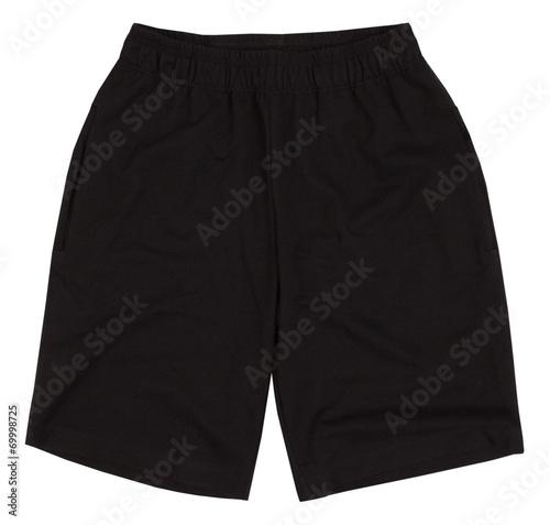 Valokuva Sport shorts. Isolated on white background.