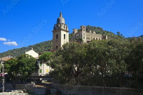 Photographie  the beautiful small town of Dolceacqua, near Sanremo, Liguria, I