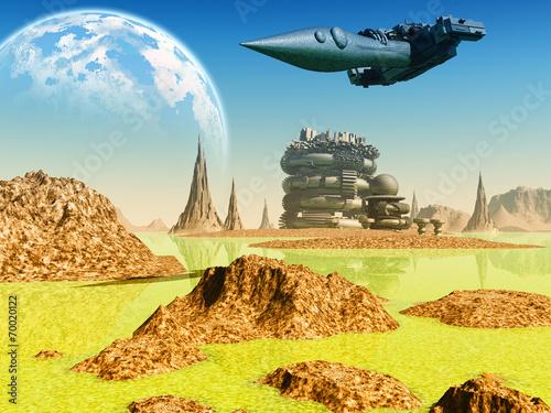 Fantasy landscape - 70020122