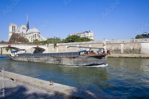 Fotografia, Obraz  Péniche à Paris_3