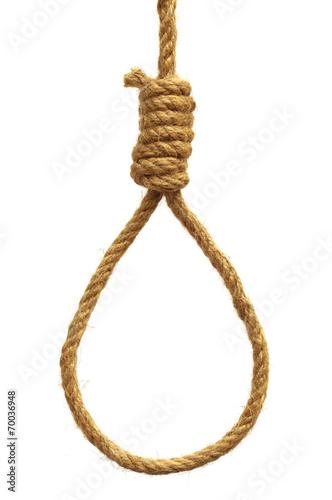 Hanging noose Fototapeta