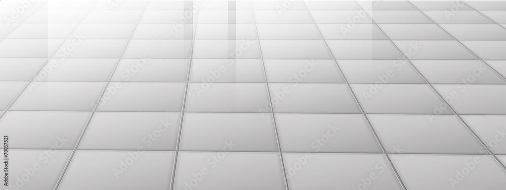 Fototapeta Sweet grey Tiling Texture