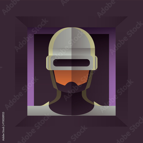 Photo  Illustration of Robocop