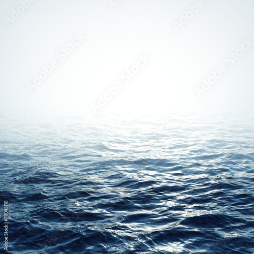 Aluminium Prints Ocean Sea background