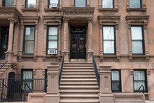 Harlem New York Brownstone Bui...