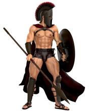 Spartan Standing Up