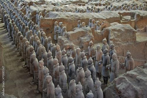 Papiers peints Xian The Terracotta Army in Xian, China