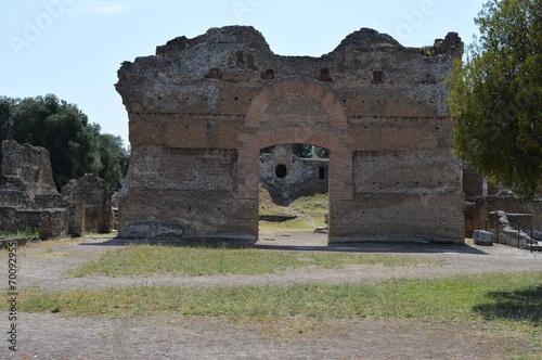 Foto op Aluminium Rudnes rovine romana di villa adriana italia
