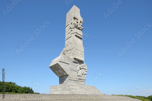 obraz lub plakat Westerplatte