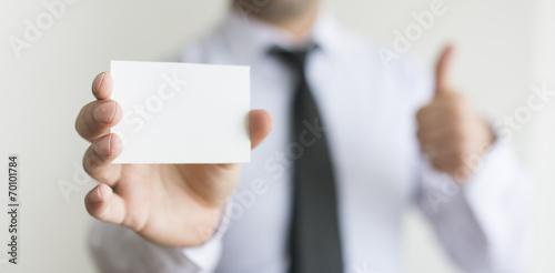 Fotografía  Blank Card
