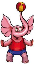 Circus Elephant. Children's Dr...