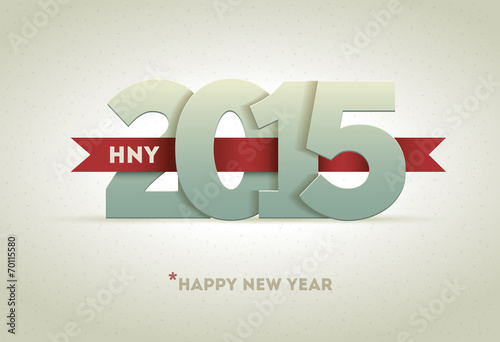 Poster  2015 Happy New Year
