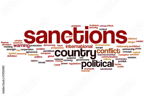 Sanctions Word Cloud Buy This Stock Illustration And Explore
