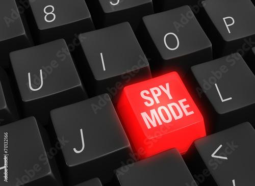 Fotografía  Cyber Spy Mode On