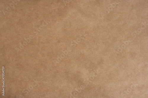 Fotografia, Obraz  brown sriped kraft paper texture or background