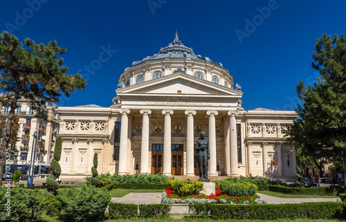 Photo Romanian Athenaeum in Bucharest, Romania