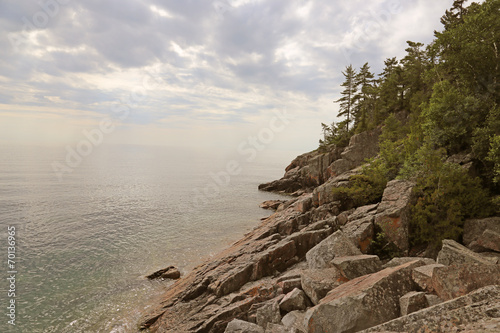 Lake Superior Coastal Vista