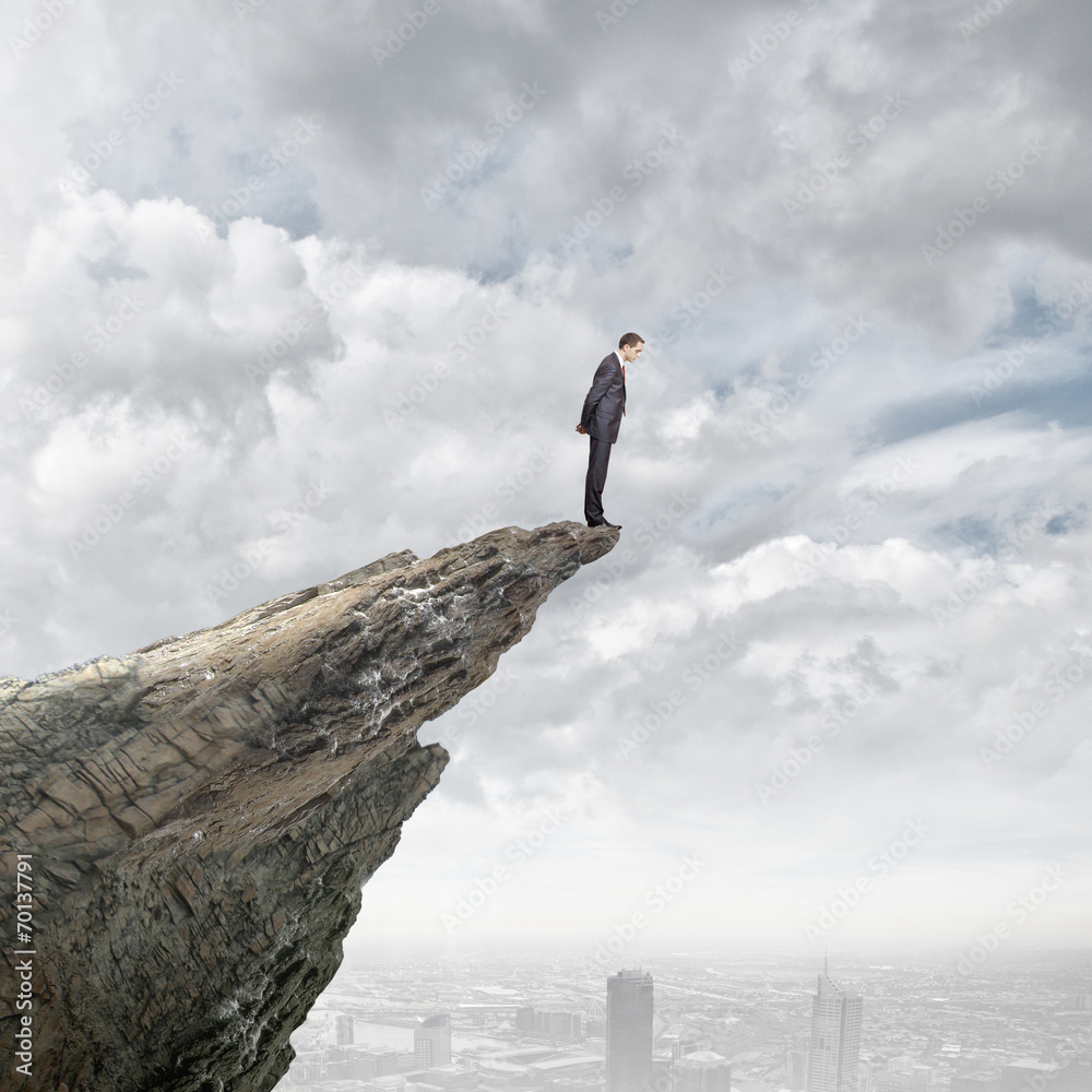 Fototapety, obrazy: Risk in business