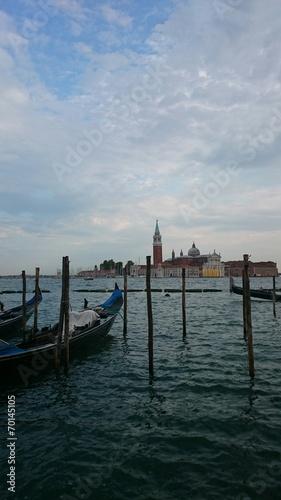 Spoed Foto op Canvas Gondeln in Venedig