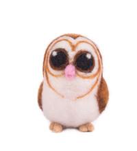 Artificial Felt Owl Toy.