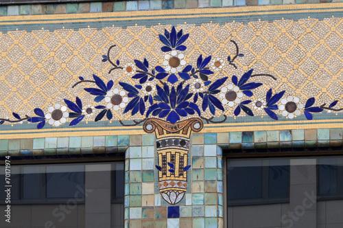 Fényképezés  Mosaïques du pavillon du Verdurier - Limoges