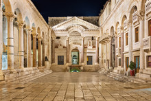 Diocletian's Palace In Split